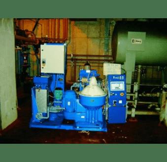 Separadora limpieza aceite